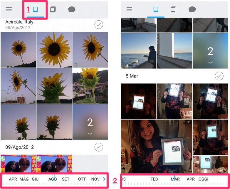 Carousel - Sfoglia rapidamente tutte le foto sul tuo Dropbox