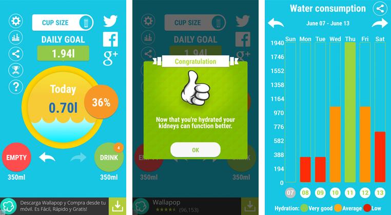 Aqualert: l'app che ti ricorda di bere la giusta quantità d'acqua ogni giorno