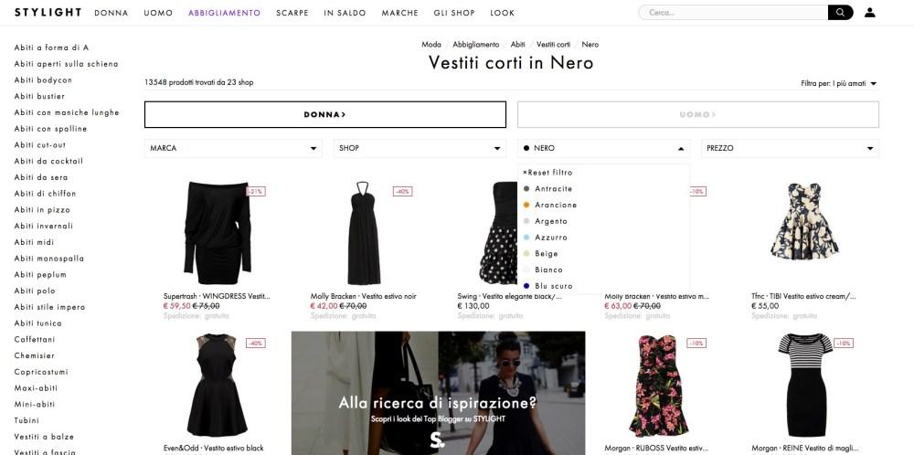 Stylight: confronta le offerte dei migliori negozi di abbigliamento online