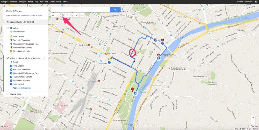 Come modificare il percorso di Google My Maps