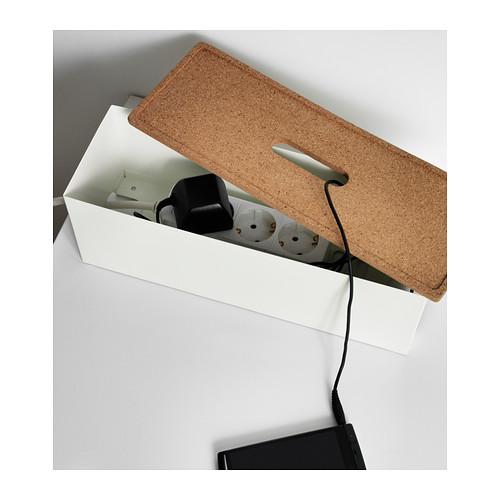 Kvissle scatola per i cavi bianco  Geek  Chic