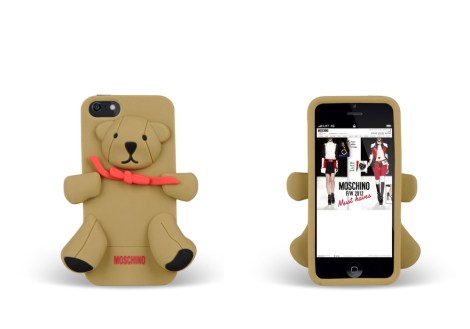 Cover per iPhone 4/4S Orso Gennarino - Moschino