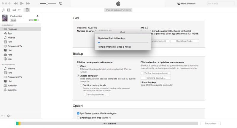 Come ripristinare un iPhone o un iPad - Ultimo passo