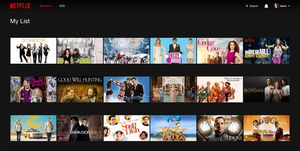 Netflix: la mia lista