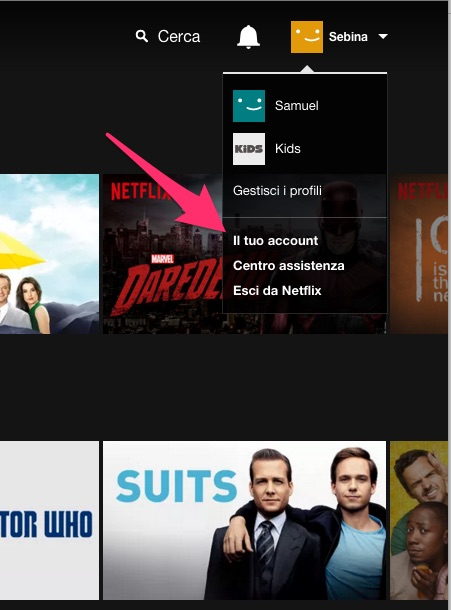 Netflix: come accedere al tuo account