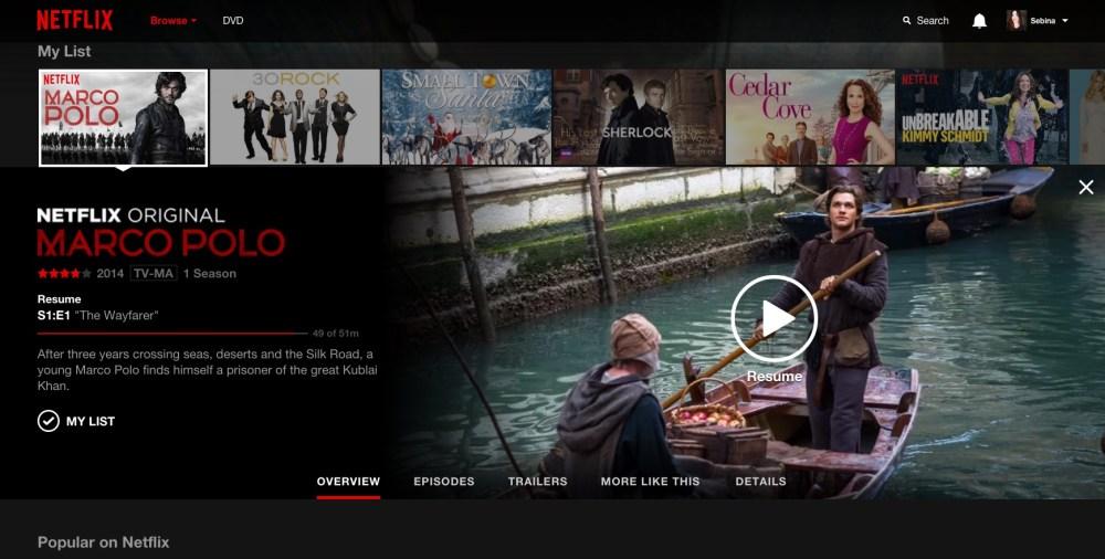 Marco Polo su Netflix