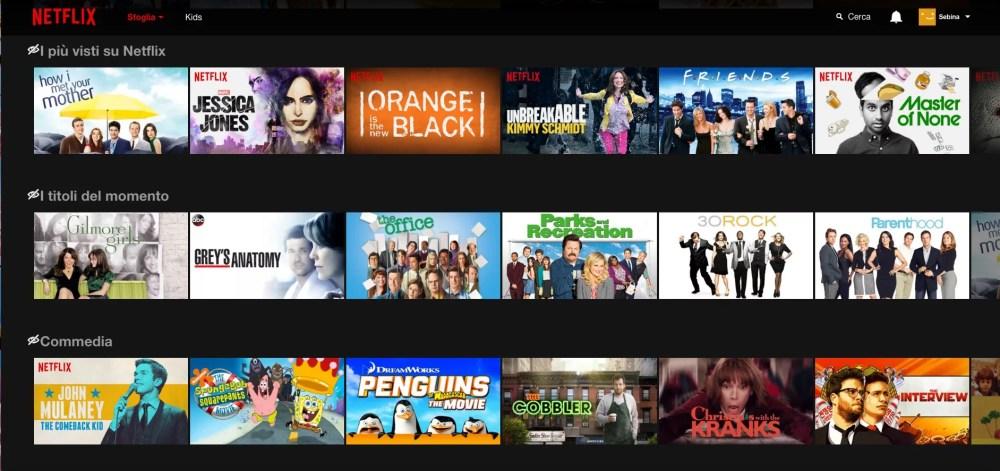 Come vedere contenuti Netflix non accessibili in Italia