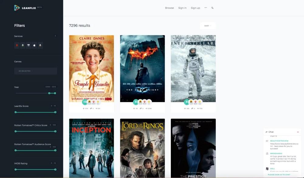 Leanflix: scopri dove vedere un film in streaming legalmente