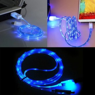 Cavetto USB con LED luminosi