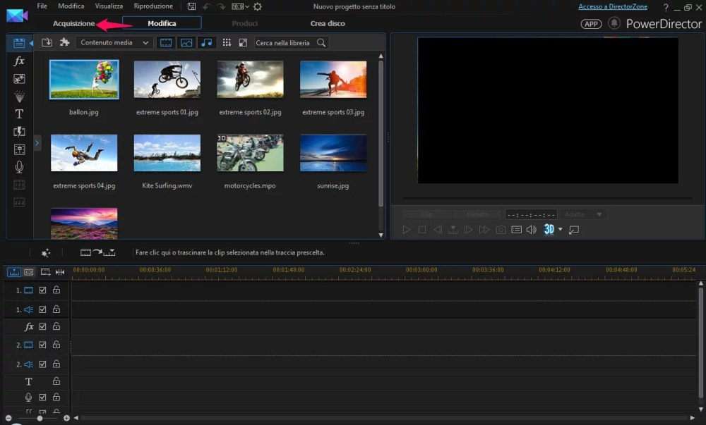 Come convertire VHS in MPEG con Power Director