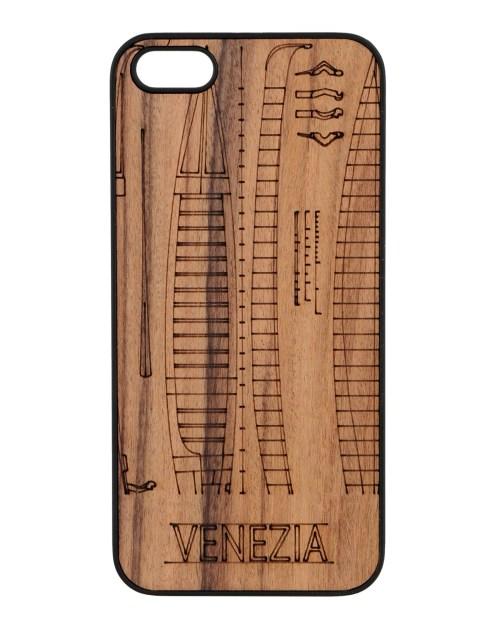 Cover Wood'd in legno per iPhone 5/5S