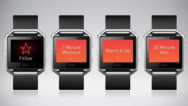 Fitbit Blaze è integrato con Fitstar