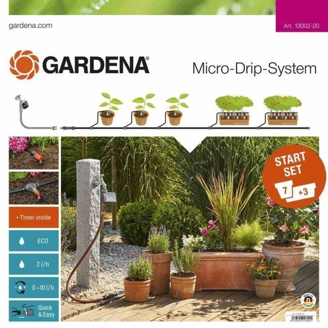 Innaffiare le piante in vacanza con i set componibili for Timer per innaffiare