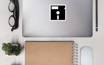 Floppy Disk – Bubble-free stickers