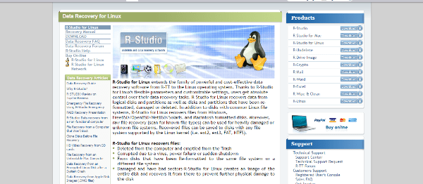 data recovery tools for linux