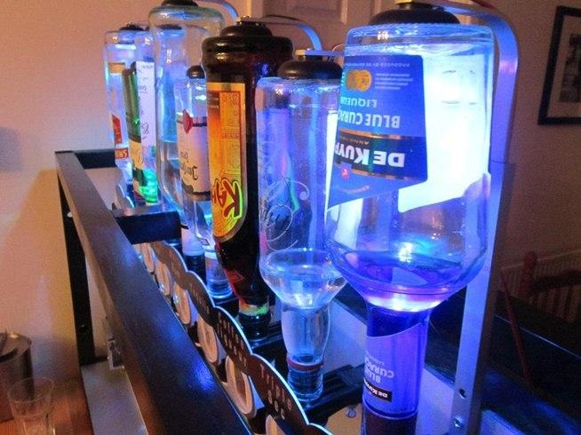 Arduino mega powered Robotic bartender