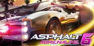 asphalt 6 sensor android games