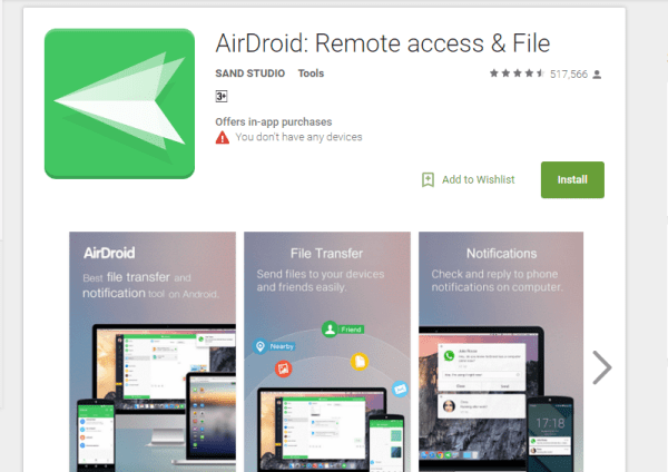 Wi-Fi File Sharing Apps