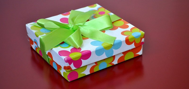 Colorful decorative luxury gift box