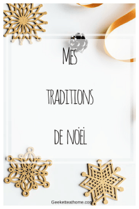 Mes traditions de noel