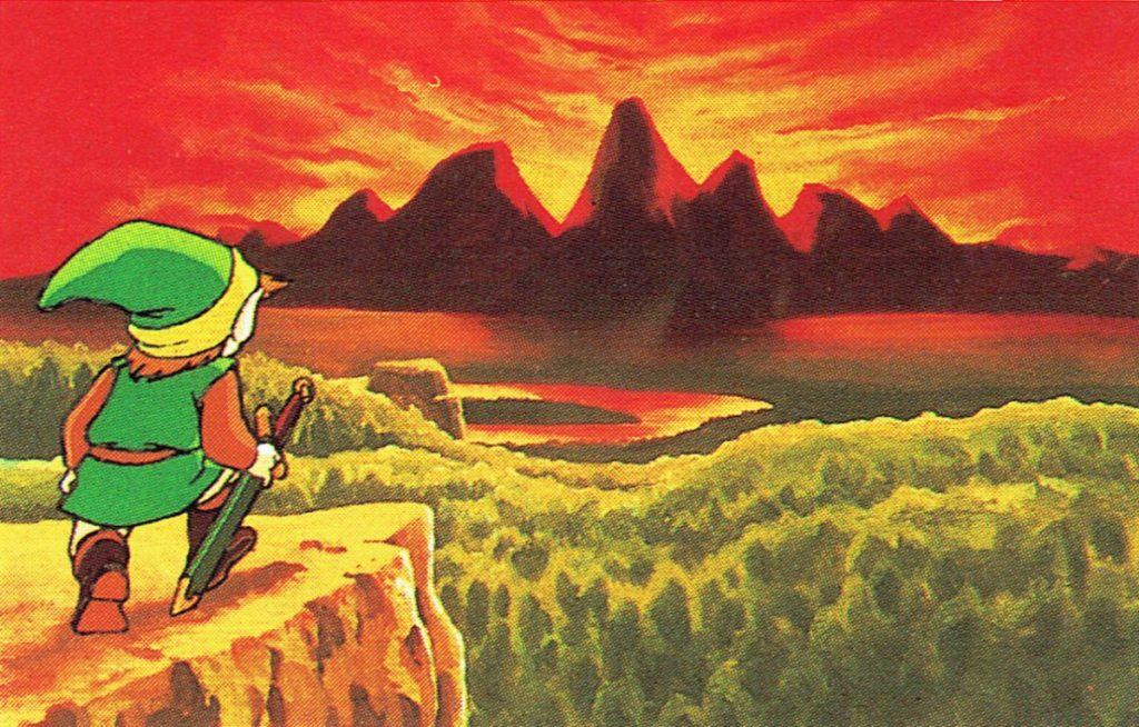 Artwork de Zelda 1
