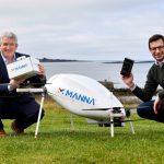 Livraison par drone - Samsung x Manna