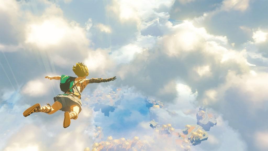 Image de la suite de The Legend of Zelda Breath of the Wild (Image du trailer de 2021)