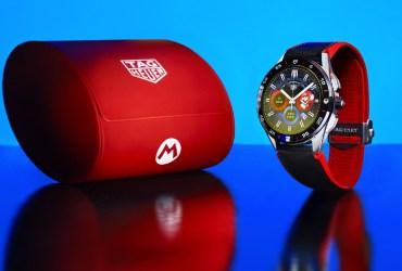 Montre Tag Heuer x Super Mario