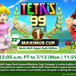 Tetris 99 x Mario Golf