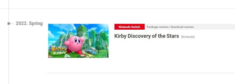 Kirby fuite