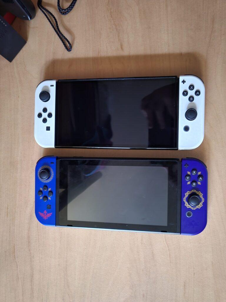 Nintendo Switch OLED vs Switch (2017)