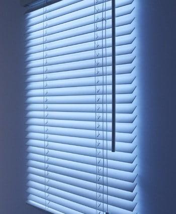 Fake Window Blinds Light  GeekExtreme