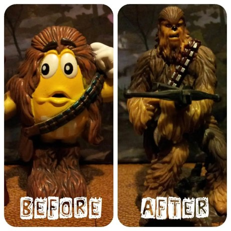 Star Wars Chewbacca - Before and After Weight Loss