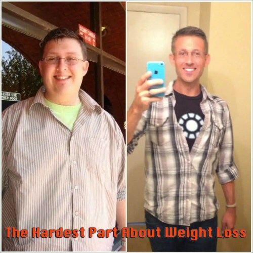 The Hardst Part About Weight Loss