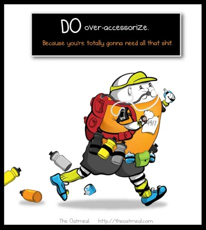 The Oatmeal Maximalist Runner Accessories