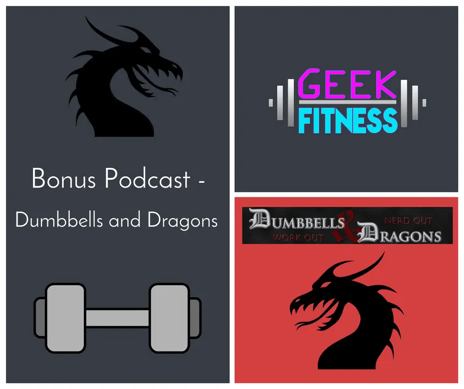 Podcast with Dumbbells and Dragons