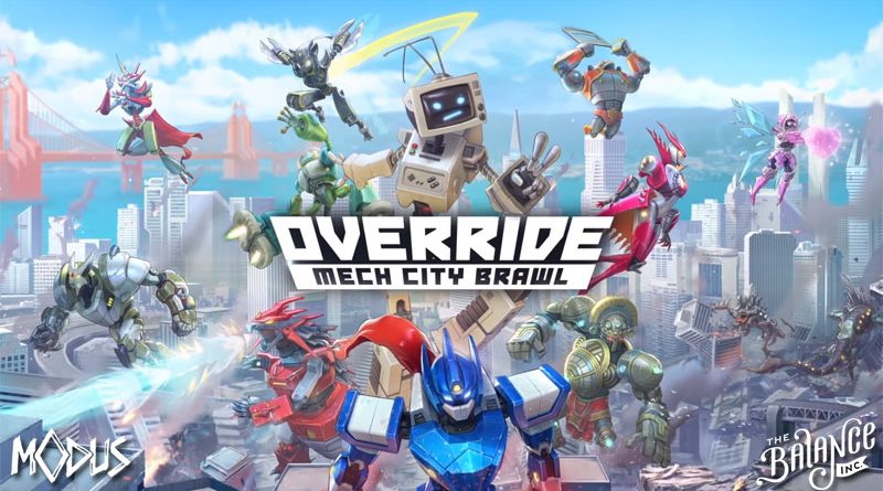 TEST] Override Mech City Brawl, de la baston mécanique !