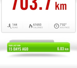 Nike plus running para Android