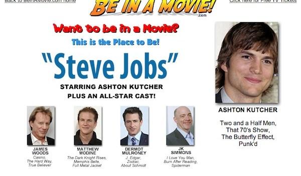 Actores para la pelicula Steve Jobs