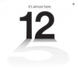 Evento Apple iPhone 5