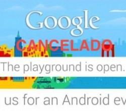 Evento Google Cancelado