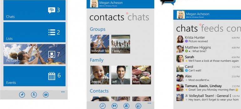 Blackberry Messenger Windows Phone