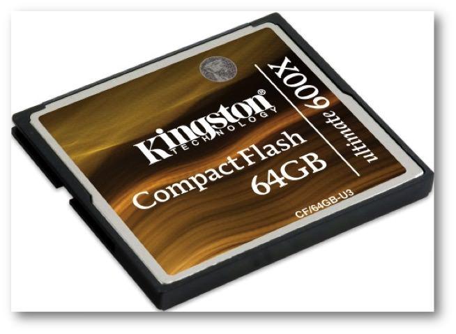 CompactFlash Ultimate 600x