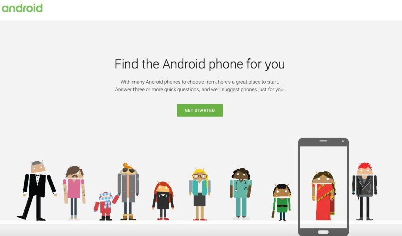 Wich Phone Android