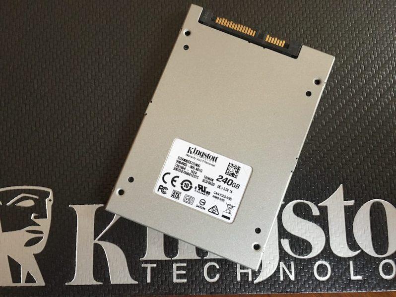 3 - Kingston SSDNow UV400