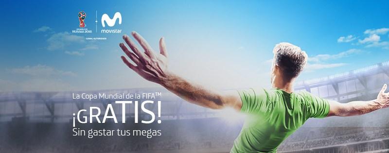 Movistar - Copa mundial de futbol 2018