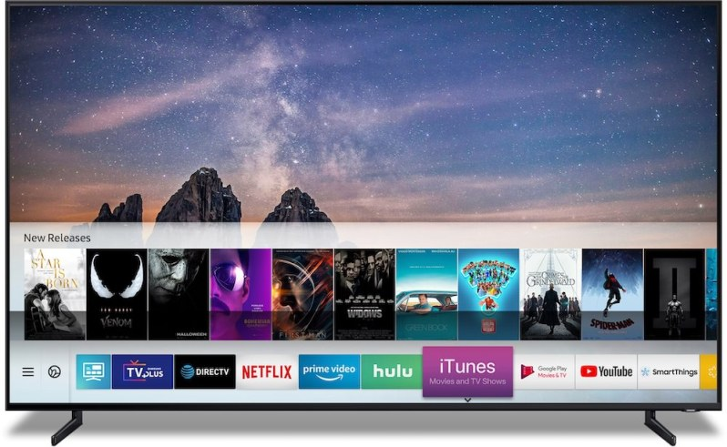 Smart TV Samsung iTunes