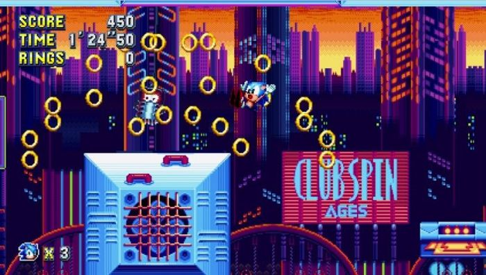 Image result for SONIC MANIA losing rings