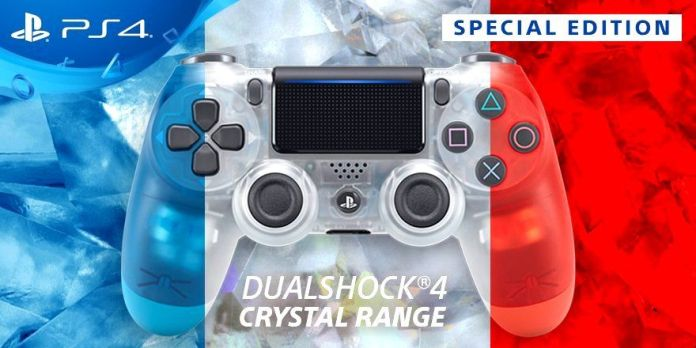 Crystal Dualshock 4 Wireless Controller