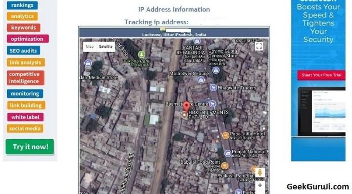 Get Current Location of Mobile Number In Google Map-geekguruji1